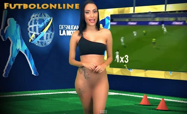 Un canal venezolano retransmite el Mundial con chicas desnudas